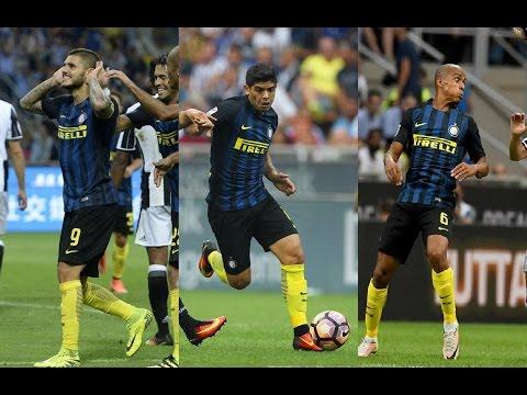 Mauro Icardi And Éver Banega And João Mário vs Juventus(18/09/2016)16-17 HD 720p by轩旗