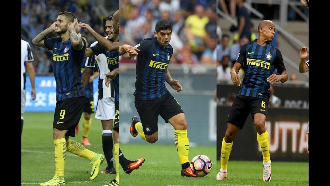 Mauro Icardi And éver Banega And Jo£o Mário vs Juventus(18 09