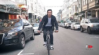 Levi's® Commuter™ x Jacquard by Google Trucker Jacket Adv Campaign 4K - Fashion Channel