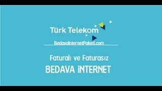 Türk Telekom Bedava İnternet 2017 HAZİRAN