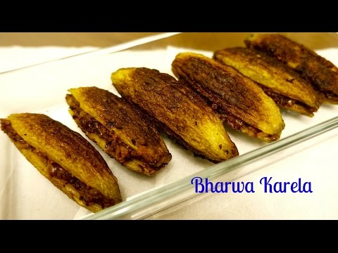 Bharwa Karela Recipe   Stuffed Karela Recipe   No BITTERNESS   Karele ki sabzi   Bitter Gourd Recipe
