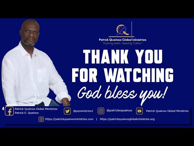 JESUS HAS PRAYED FOR YOU   with Pastor Patrick