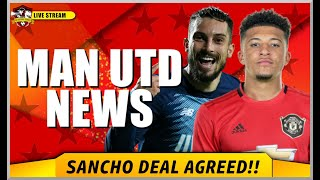 Jadon Sancho to Manchester United AGREED | Alex Telles close to Man United transfer