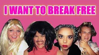 Baixar I WANT TO BREAK FREE FAN MADE MUSIC VIDEO!