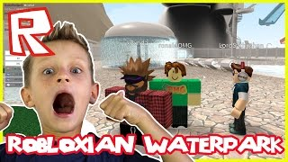 ROBLOXian Waterpark - POOL PARTY | Roblox