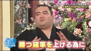 SMAP×SMAP 琴奨菊 桐谷健太 2月15日.