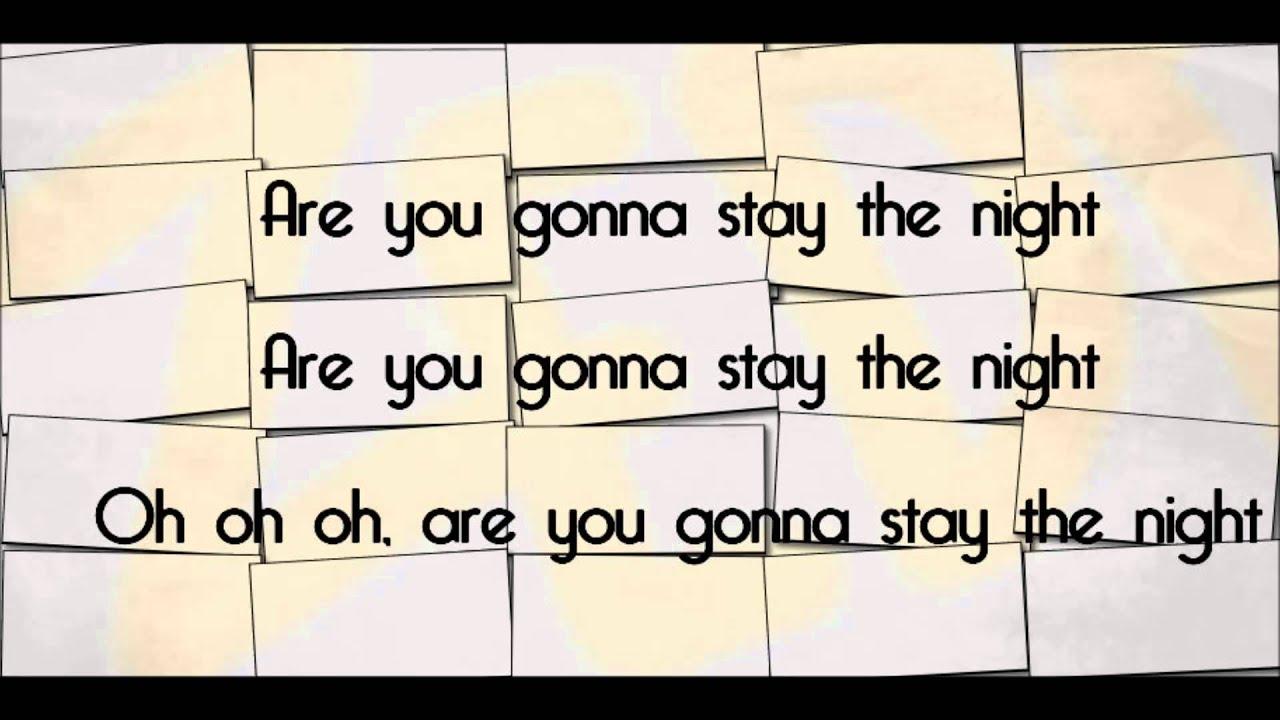 stay the night lyric video hayley williams zedd youtube