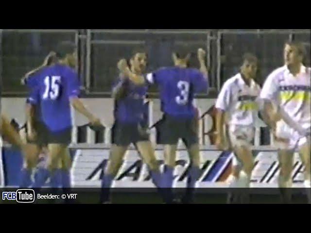 1991-1992 - Jupiler Pro League - 07. Club Brugge - Racing Genk 3-0