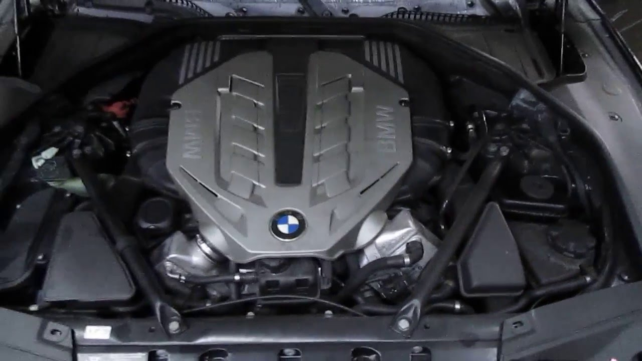 2009 Bmw 750i 4 4l Parts Vehicle Engine Test  160403