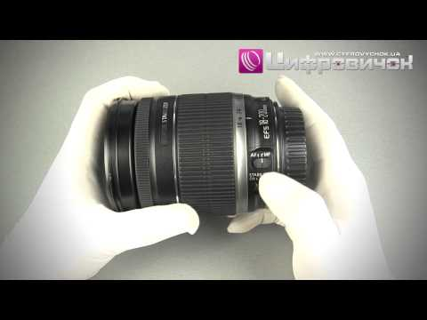 Видеообзор Canon EF-S 18-200mm f 3.5-5.6 IS