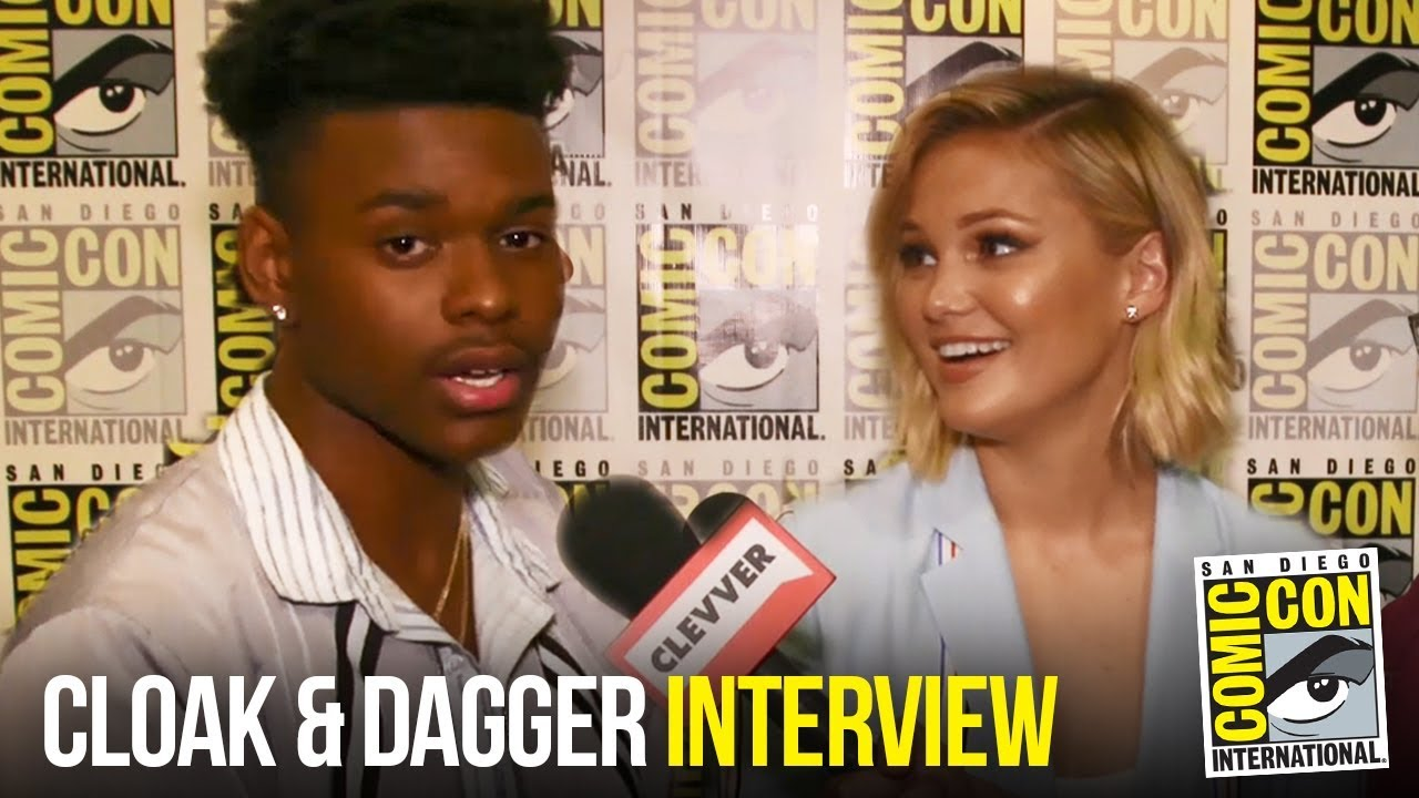 Olivia Holt & Aubrey Joseph  REACT to Cloak & Dagger Season 2 Renewal at Comic Con 2018