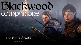 ESO Blackwood: Messing Around With Companions PTS