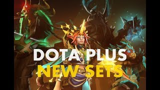 Dota Plus - 4 New Exclusive Sets (Dota 2)