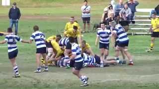 12 tries: Riverview 1st XV v Scots 2015 [33-47] GPS r9