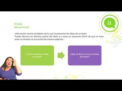 "Lenguaje - Clase N°5 - ""Tema, idea principal e ideas secundarias"""