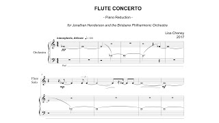 LISA CHENEY | Flute Concerto (2017) LIVE