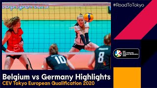 RoadToTokyo Belgium vs Germany 1 3 Match Highlights