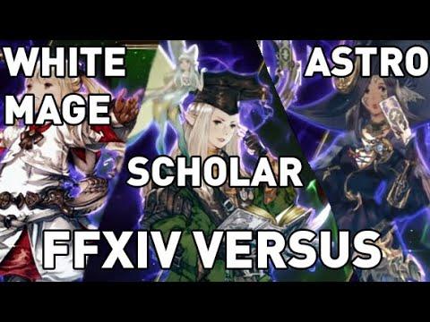 FFXIV: White Mage Vs Scholar Vs Astrologian (Healer VERSUS, Patch 5.11)