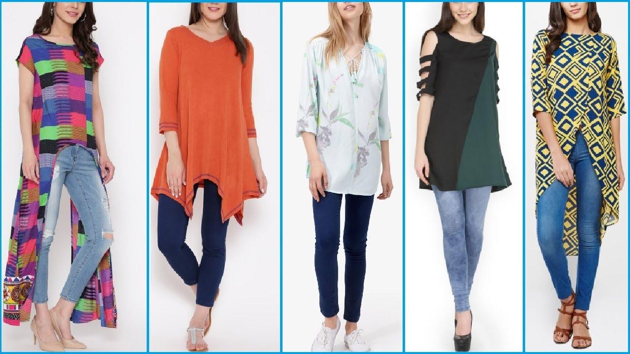 latest stylish tops long shirt tunic kurti kurta