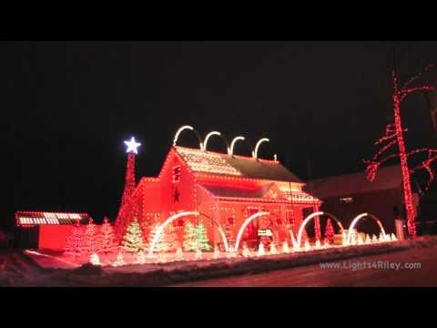 Jingle Bells - Brian Setzer Orchestra - Lights For Riley Christmas Lights 2012
