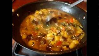 Curry/gravy Aloo Baingan Or Eggplant And Potato Gravy Recipe