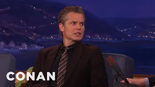 Timothy Olyphant Smoked Willie Nelson's Weed  - CONAN on TBS streaming