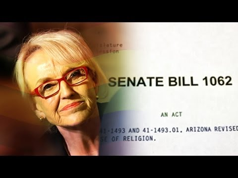 Arizona Governor Jan Brewer Ponders Her Decision On 'Anti-Gay' Bill