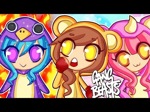 Gang Beasts - IT'S TOO CUTE TO PUNCH!! (Funny Moments)