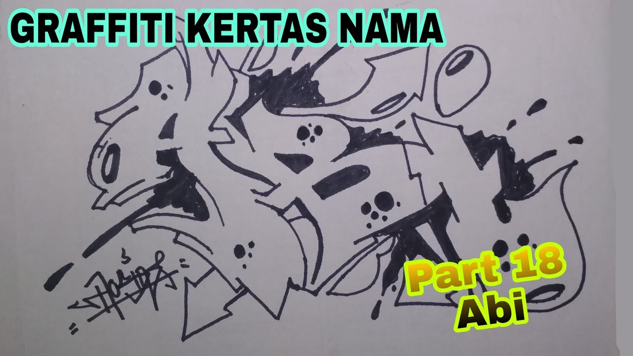 Graffiti Kertas Wizard