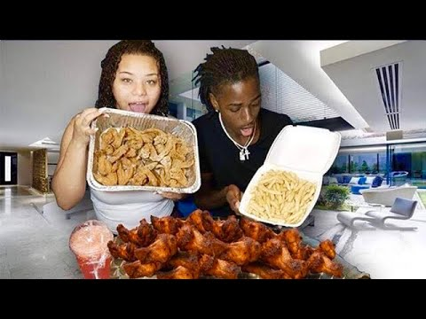 CHICKEN WINGS MUKBANG!!! (GONE WRONG)