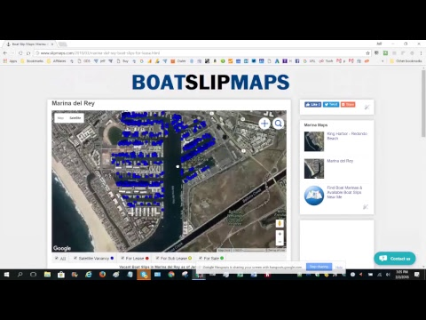 List of Marinas We Have Mapped