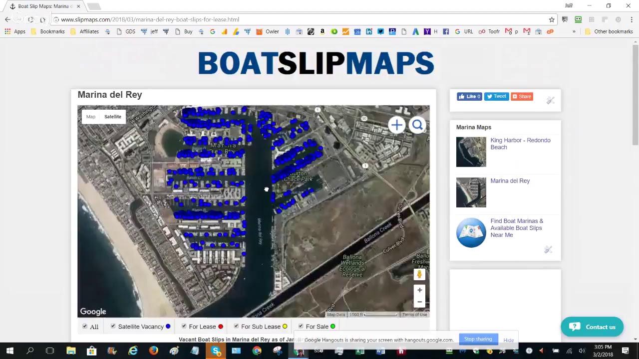 Boat Slip Maps