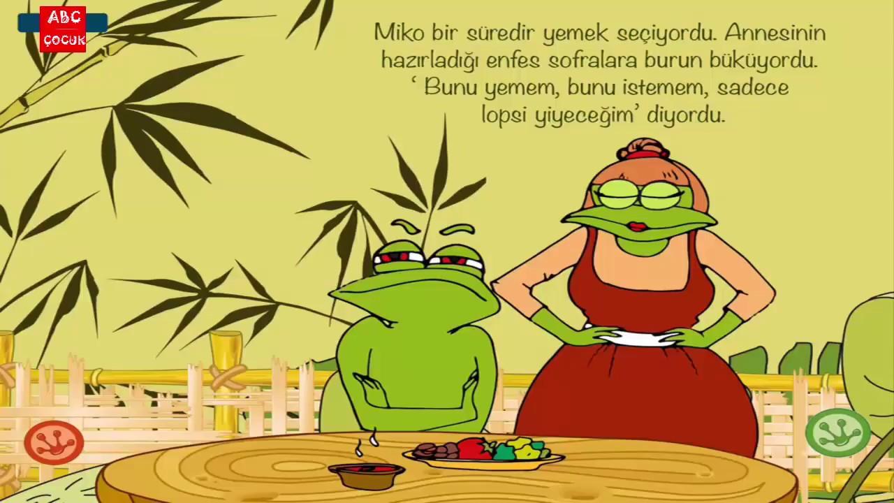 Miko'nun Yemek Macerası - Türkçe Masal ve Çizgi Film - ABC Çocuk