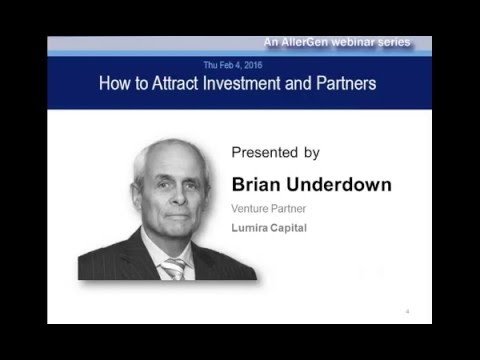 How to Attract Investment & Partners with Brian Underdown