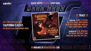 Big Prodeje - California Classics [album SNIPPET mixed by COOKY RANX] [AUDIO]