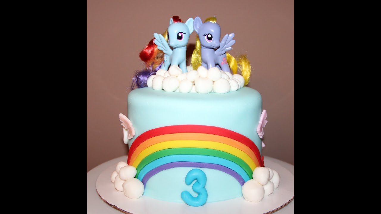 Little Pony Birthday Cake