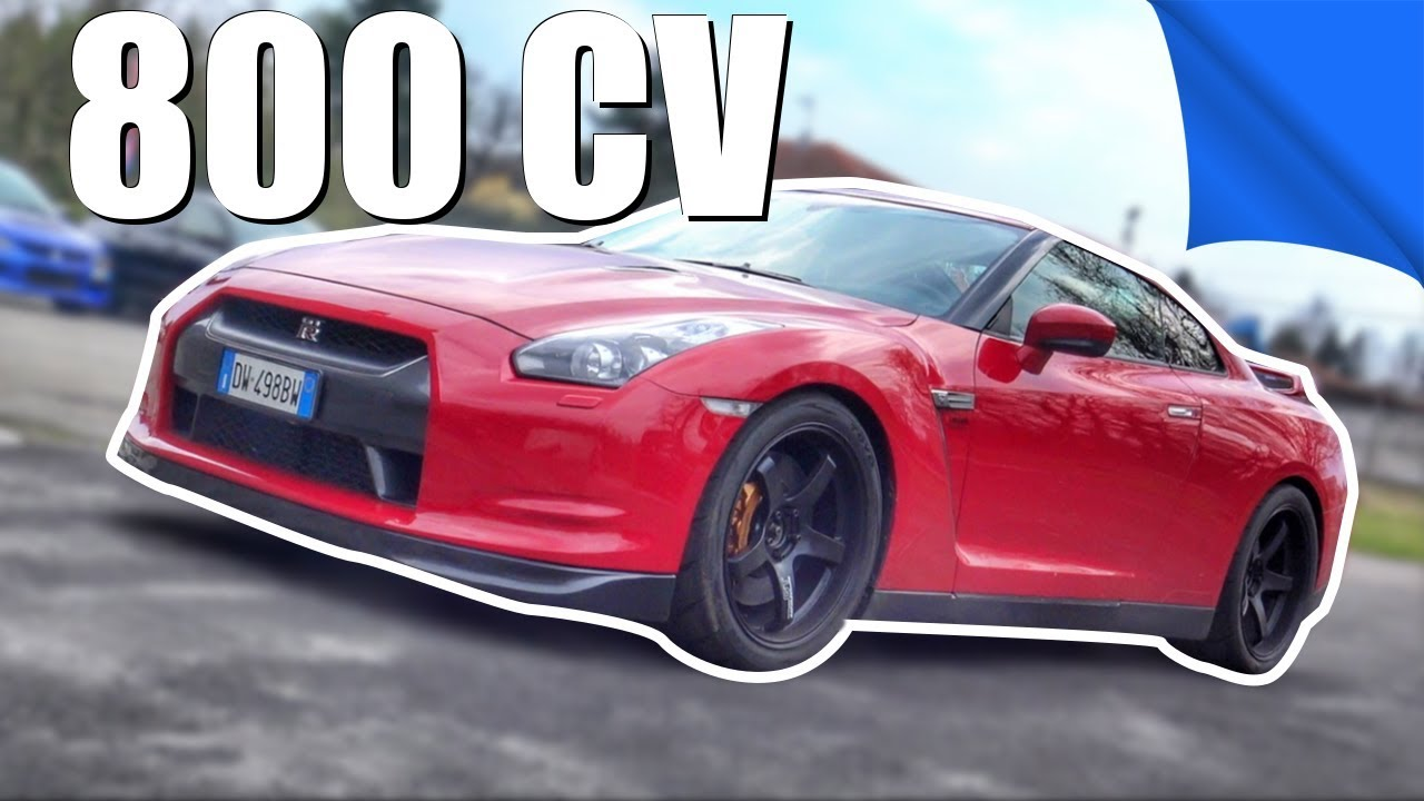 VIDEO  |  Nissan GTR 800 cv e Lancer Evolution 430 cv