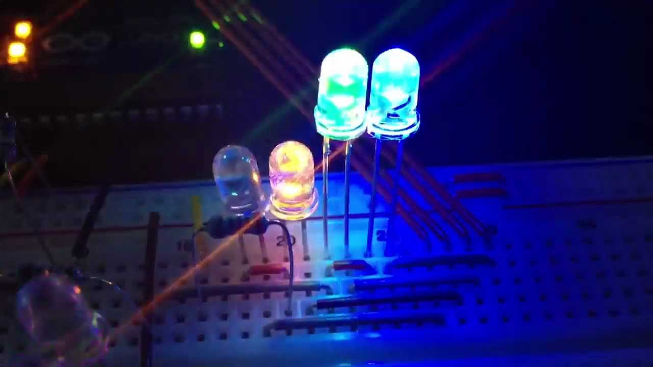 Diy arduino led music visualizer concept youtube