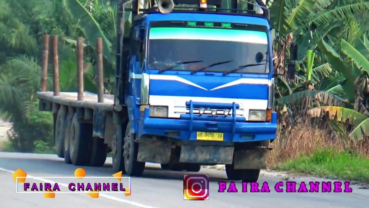 #3 MINAS. TRUCK BALAK TRIBAL MANTUL DI SIRKUIT MINAS PEKANBARU - YouTube