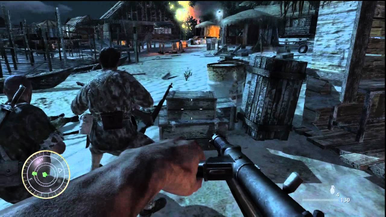 Call of Duty World at War Campaign Walkthrough Part 1 HD - YouTube