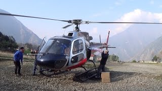 Flying - Helicopter Flight From Kathmandu To Lukla Airport In Nepal (April 11th, 2015)
