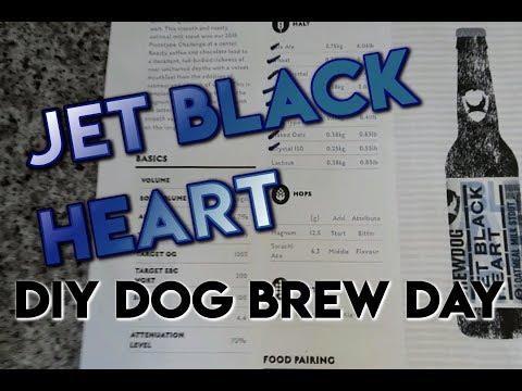 Jet Black Heart - Brew day