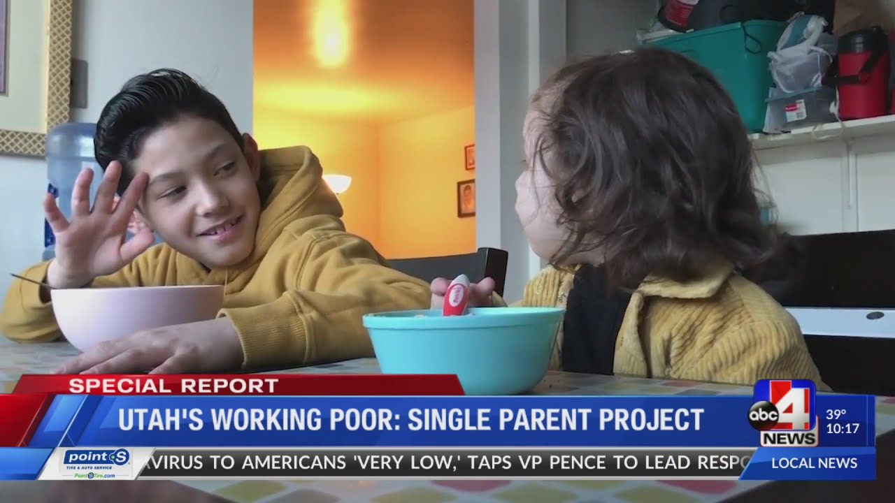 The Struggle of Utah's Working Poor: Single Parent Project (10 p.m.)
