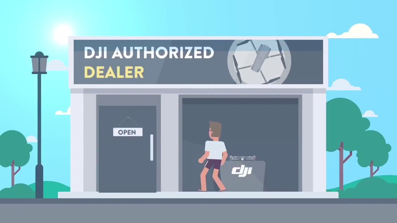 Red Cat Motion: DJI Care Refresh explainer animated video