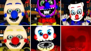 Benny The Clown Circus World ALL JUMPSCARES