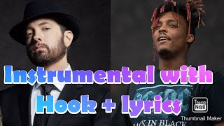 Eminem- Godzilla ft. Juice Wrld (instrumental with hook +lyrics)