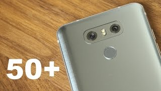 50 tips tricks for the lg g6