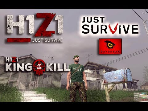Just Survive Game Play | What is H1Z1 Just Survive & King of The Kill H1Z1