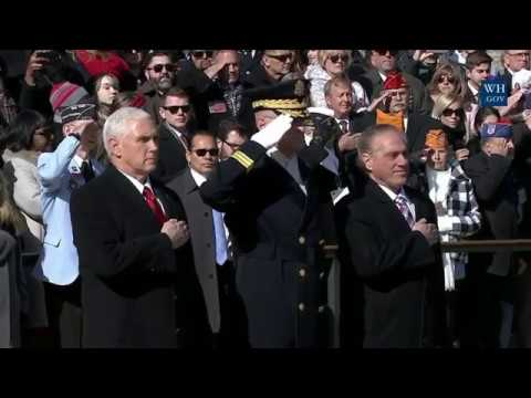 Vice President Pence Wreath Laying and Veteran's Day Service at Arlington Nat'l Cemetery