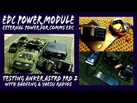 Budget QRP Battery Pack Anker Pro2 for Ham Radio